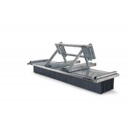 Kehrbesen G-Concept G12-1500 Kombiaufnahme Euro-Schnellwechsler/Gabel
